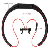 Écouteur d'attenuation de bruit de Bluetooth d'attraction magnétique de Neckband de Sweatproof V4.1 Appartement-x