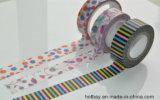 Vente en gros de papier personnalisée de bande d'impression de Washi de décoration