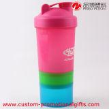 多色刷りの携帯用プラスチックPP物質的で分離可能な水飲み物のびん