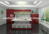 Förderung-Philippinen-modulares Acryl täfelt MDF-Glanz-Küche-Schränke (reines Acryl 100%)