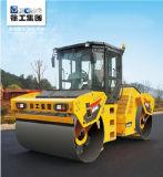 Rolo de estrada dobro do pneu de borracha do cilindro de XCMG Xd122e 12ton