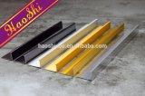 Tiras decorativas de la pared de aluminio de la protuberancia de la dimensión de una variable de E (HSE-289)