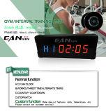 "[Ganxin] 3 "" 경쟁가격을%s 가진 전기 발광 다이오드 표시 디지털 시계"