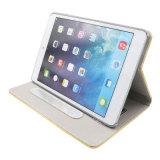 Gevallen van het Leer van de Ogen van Bling passen de Grote met Hoek iPad aan