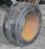 Neumático sólido de la carretilla elevadora, 14*4 1/2*8 (355.6X114.3X203.2) Presionar-en el neumático sólido
