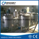 Soluzione mescolantesi Mixer Melangeur De Shampoing dello zucchero del miscelatore della mescolatrice dell'olio del serbatoio di emulsionificazione del rivestimento dell'acciaio inossidabile di Pl