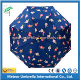 ترقية خيزرانيّ مقبض دليل استخدام 2 يطوي مطر مظلة