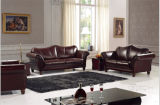 Sofa Set를 위한 고대 Furniture Classical Leather Sofa