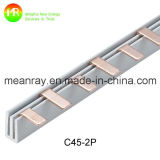2p 전기 구리 공통로 C45 MCB 공통로 절연체