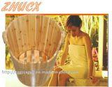 مستديرة خشبيّة قدم حوض قدم حمّام برميل برميل خشبيّة