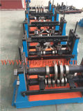 穴があいたSteel PlankかWalk Borads Roll Forming Production Machineタイ