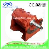 Pompe horizontale verticale centrifuge de gravier de boue d'émoulage