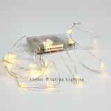 Lo nuevo Luces fiesta de Navidad del centelleo del LED mini alambre de cobre de Cuerda