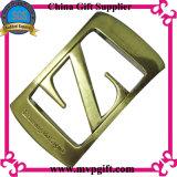 Qualitäts-Metallgürtelschnalle mit Stich des Firmenzeichen-3D