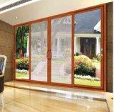 Звукоизоляционная раздвижная дверь алюминия Tempered стекла 2.0mm двойного слоя