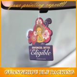 Private Label Hanging Paper Car Perfume Air Freshener (BLF-C055)