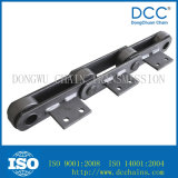 Steel soldado Engineering Chain con Attachments para Palm Oil Industry