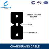 Cable de la fibra de la gota FTTH de la alta calidad GJXFH/Gjxh para de interior