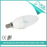새로운 디자인 6W LED 초 램프 E14 E27 Availbale