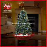 Diodo emissor de luz Christmas Tree com Flying Snow e Music para Decoration