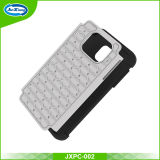 Samsung Galaxy S6 Edge를 위한 세포 Phone Accessories PC Silicon Diamond Cover Case