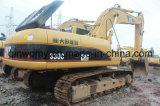 Excavatrice hydraulique de grande puissance Japon-Initiale utilisée de chenille du tracteur à chenilles 330c de la pelle rétro 2008/6500hrs