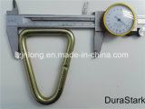 직류 전기를 통한 삼각형 반지 & 금속은 둥글게 된다 (DR-Z0172)