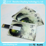 Presente promocional Impressão a cores completas Cartão de crédito USB Stick (ZYF1826)