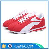 Espadrille en gros de la coutume DEL d'usine, chaussures de sports