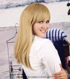 Parrucca sintetica dei capelli diritti della parrucca dei capelli di stile lungo