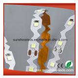 Освещение прокладки SMD2835 10W/M DC12V СИД Bendable используемое в знаках и каналах