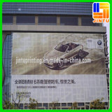 通りの塀の旗の屋外のハングの網の旗の広告