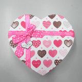 Heart-Shaped коробка подарка бумаги картона с смычком