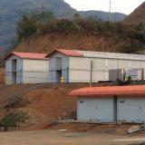 Дом контейнера плоского пакета полуфабрикат для лагеря/жить минирование домой