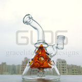 De in het groot Waterpijp van het Glas van de Boorplatforms van het Ei 8inch Fab met Matrijs Perc
