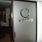 Замороженная фотоим пленка уединения винила для стеклянной двери офиса