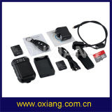 Камера уникально водоустойчивого тела полиций 1080P пригодная для носки с WiFi/Bluetooth/4G/3G/GPS