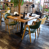 (SL-8112) 가구 제조자를 위한 의자를 식사하는 현대 나무로 되는 대중음식점