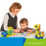 En71 brinquedos educacionais do bloco de apartamentos das crianças dos brinquedos da aprovaçã0 120PCS (10274042)