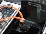 De draagbare Mini Dubbele Adapter van de Lader van de Auto van de Haven 3.1A USB
