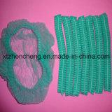녹색 제조업체 공급 일회용 부직포 블루 / / 화이트 의료 캡