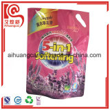 Saco de pé plástico do detergente do malote de Aliminum
