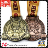 Medaglia su ordinazione di sport del metallo del fornitore della Cina per il Weightlifting