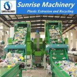 Machine van het Recycling van de Was van de Fles van het Huisdier van het afval de Plastic Verpletterende