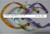 Il PVC superiore del pistone delle donne di stile di modo lega la tomaia di flip-flop (TM004)