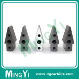 Jogo do bloco dos furos do carboneto de tungstênio três da elevada precisão
