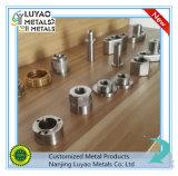 Hohe Präzisions-kundenspezifisches Messingteil durch CNC-maschinell bearbeitenmessing/Aluminium/Edelstahl
