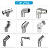 Corrimão de aço inoxidável Flush Angle Casting Pipe Fitting with Joint