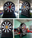 Dardos inflables inflables gigantes del fútbol de los deportes de Atand de la tarjeta de dardos del pie del juego de mesa del dardo
