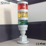 IP67는 LED 탑 경고등 3 색깔을 방수 처리한다